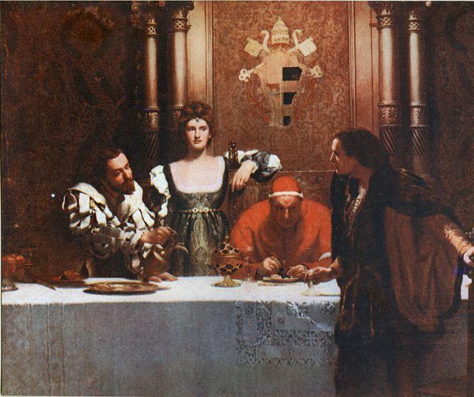 Lucrezia, la colpa di essere una Borgia.