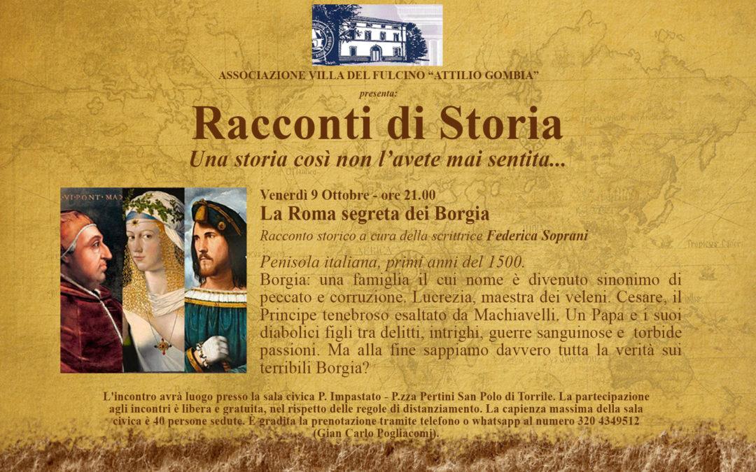 Racconti di Storia: La Roma segreta dei Borgia